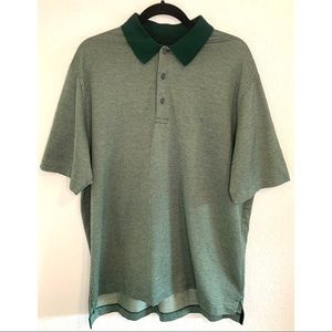 Brooks Brothers green patterned shirt large